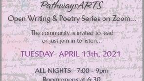 4.13.21 Writing & Poetry Zoom Readings