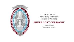 White Coat Ceremony Fall 2021