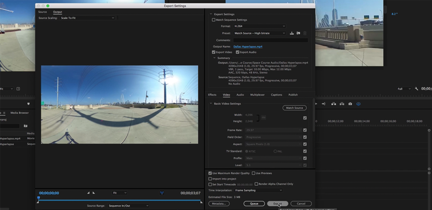 Exporting 360 Video Is A Little Different Than Exporting Standard Video  Namely, You Need To Add The Appropriate Metadata To Your Video