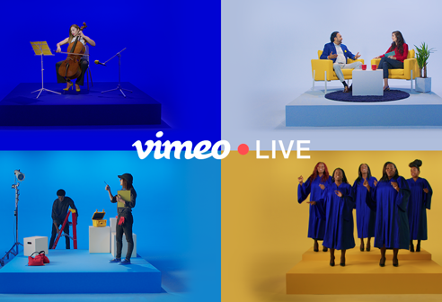 Meet Vimeo Live: professional live streaming for events