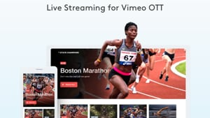 New! Deliver & monetize live video from your OTT branded apps