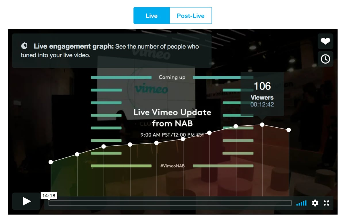 Now you can go live, right from your webcam - Vimeo Blog