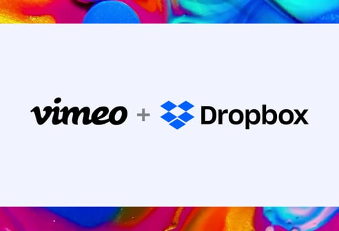 Vimeo review tools, now accessible through Dropbox