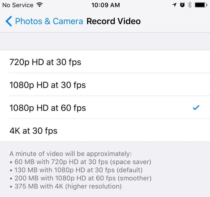 Master your iPhone settings for boastfully beautiful videos