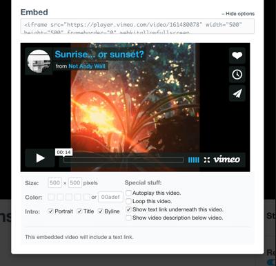 Options teen video blog — img 10