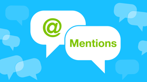 Holler at your humans with new @mentions