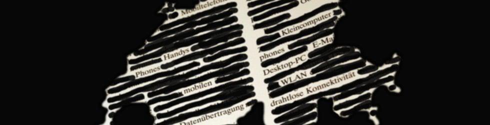 Zensur im Internet - auch in der Schweiz?
