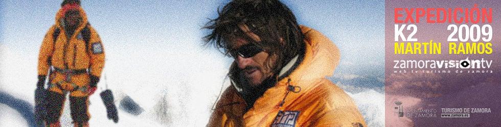 Martín Ramos. Expedición K2 2009