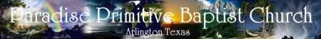 Primitive Baptist Videos Word of Sovereign Grace Channel