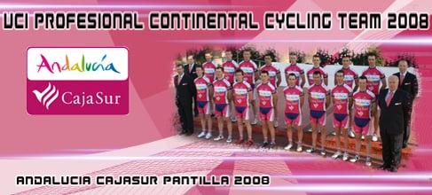 Andalucia CajaSur- ebici.com Cycling Pro Team