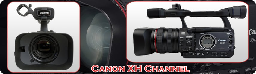 Canon XH Cameras