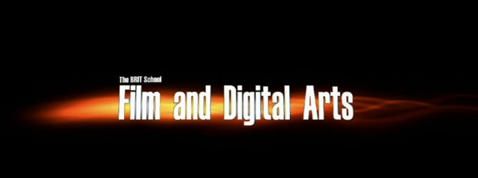 The BRIT School Film & Digital Arts Channel