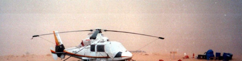Helicopter Flights and Simulations