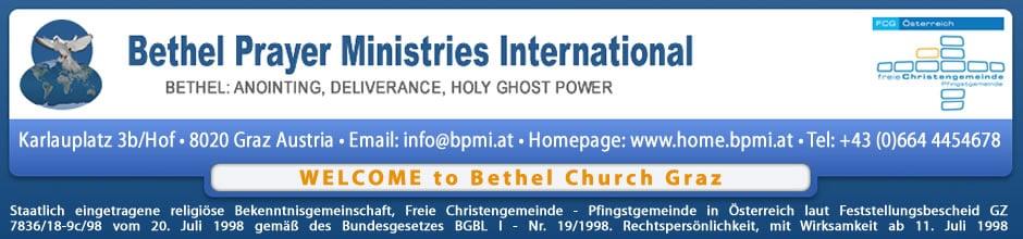 Bethel Prayer Ministries International