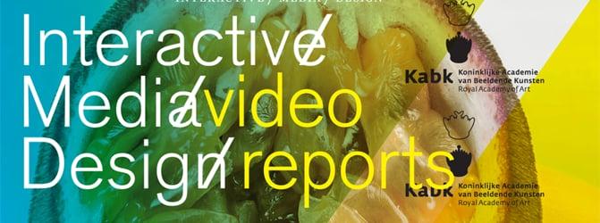 Interactive/Media/Design at KABK