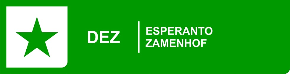 DEZ - ESPERANTO ZAMENHOF
