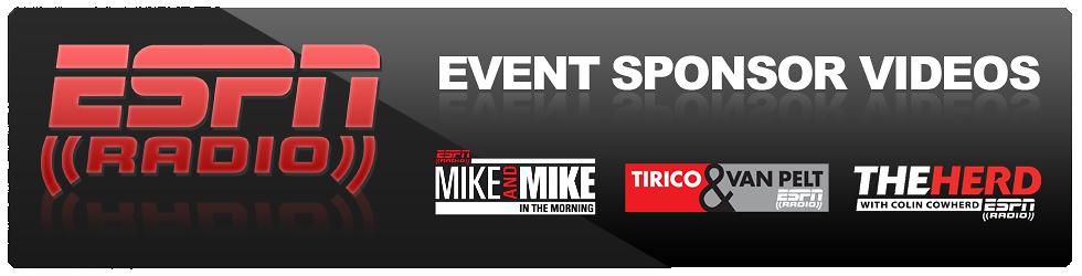 ESPN Radio Sponsor Videos