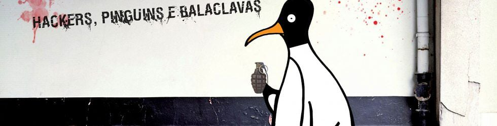 Hackers, pinguins e balaclavas