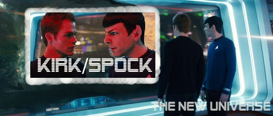 Kirk/Spock- The New Universe