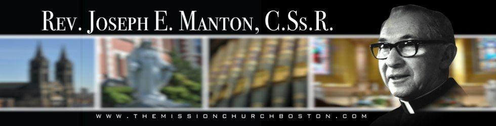 Rev. Joseph E. Manton, C.Ss.R.