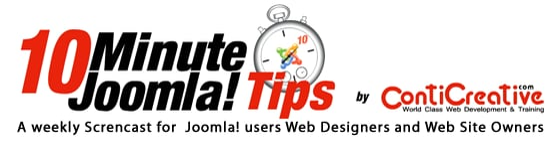 10 Minute Joomla! Tips