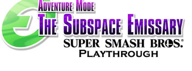 Subspace Emissary Playthrough {Single player, Easy}