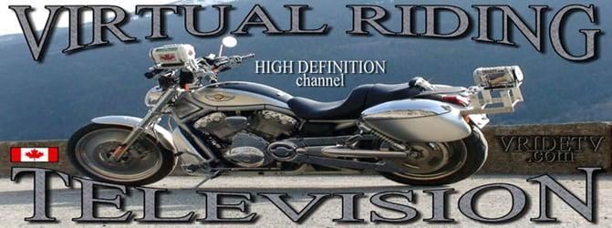 Motorcycle rides in Canada/HD videos/VRIDETV.com