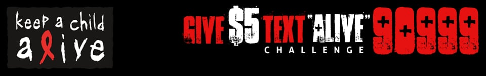 Give$5 TextAlive 90999