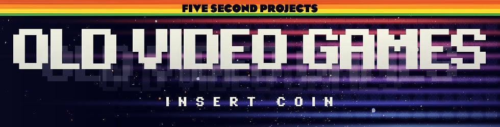 Five Second Projects Theme 12: Old Video Games