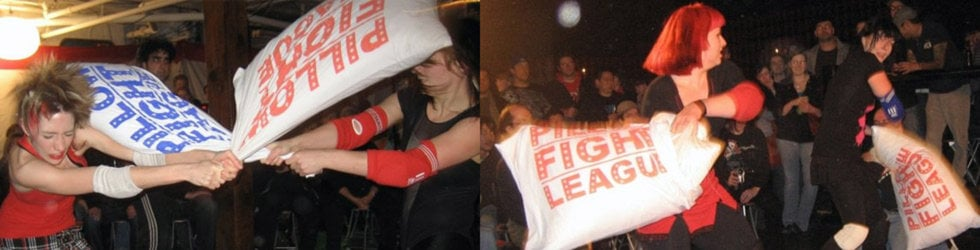 Pillow Fight League - FIGHTS