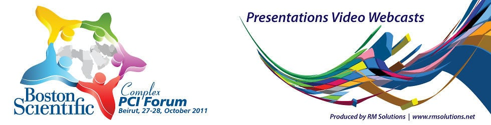 Boston Scientific PCI Complex Forum. October 2011