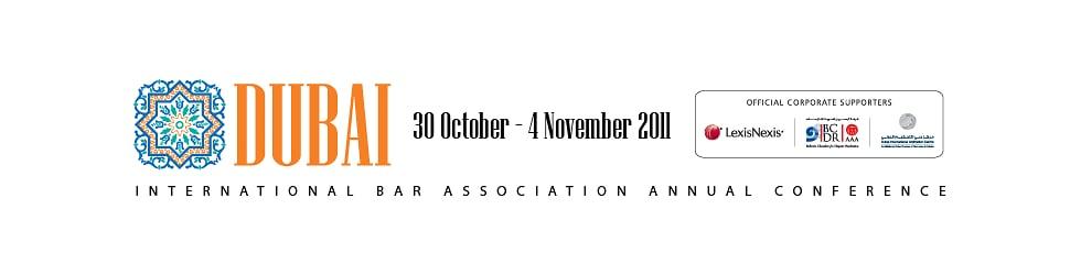 IBA Annual Conference 2011, Dubai, UAE