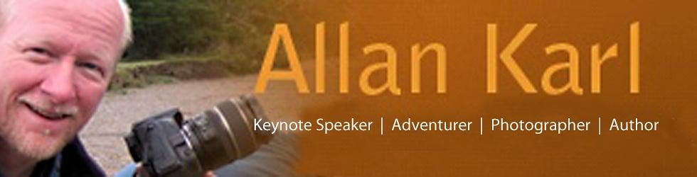 Allan Karl - Keynote Speaker Adventure Speaker