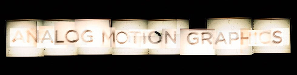 Analog Motion Graphics