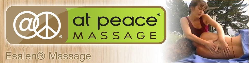 at peace® - Esalen Massage