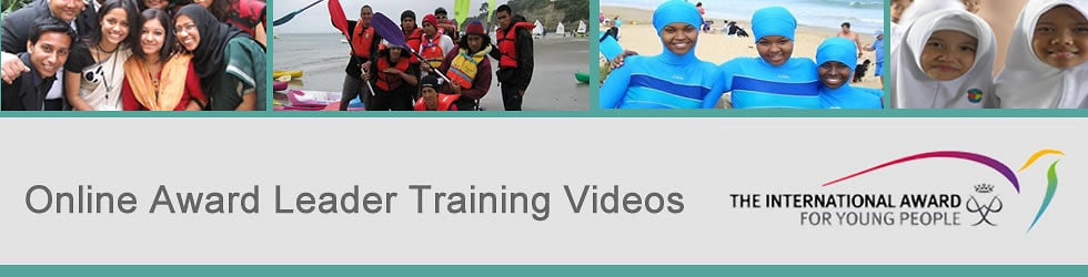 Online Award Leader Training