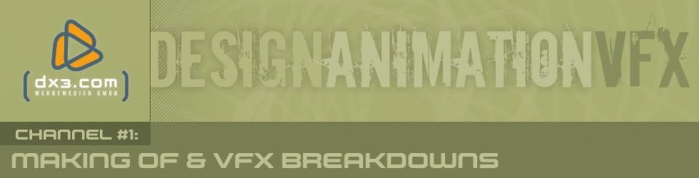 dx3.com Making Of / VFX Breakdowns