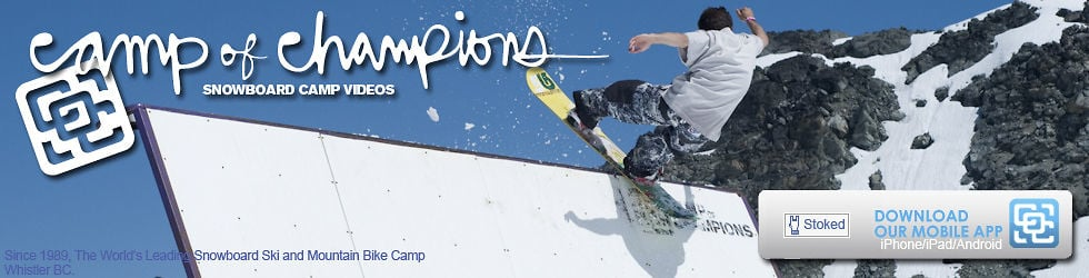 Camp of Champions Snowboard Videos