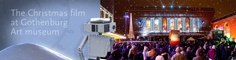 Julfilm Götaplatsen