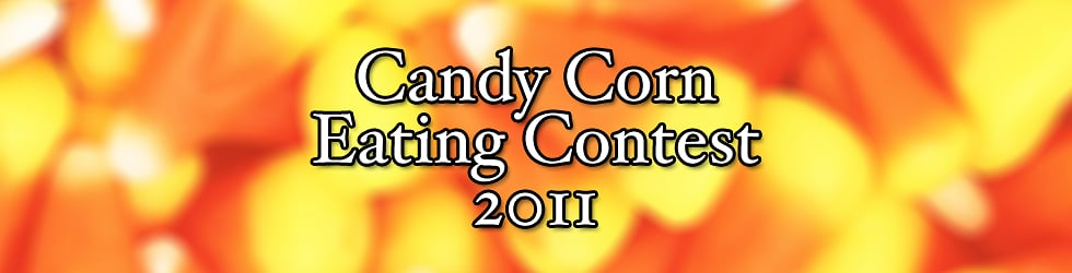 Candy Corn Eating Contest 2011