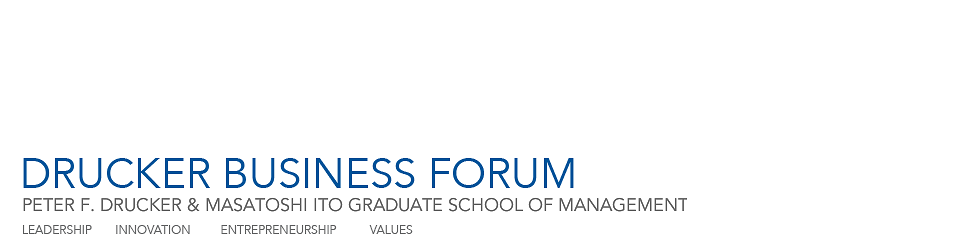 Drucker Business Forum