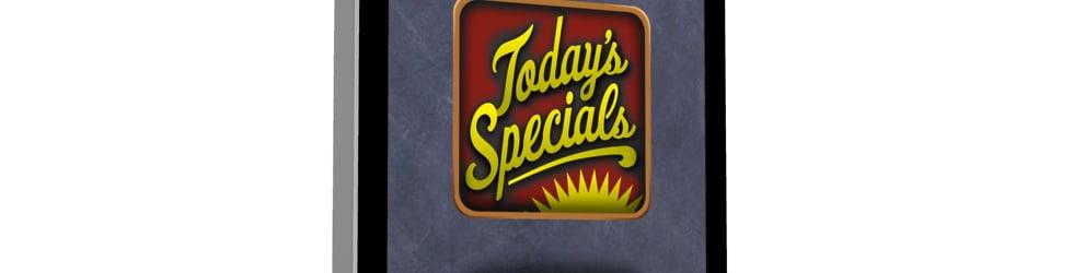 Today's Specials Tutorials