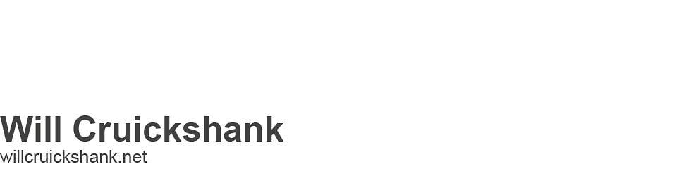 Will Cruickshank