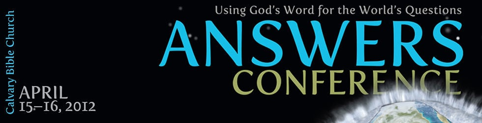 Answers in Genesis Conference