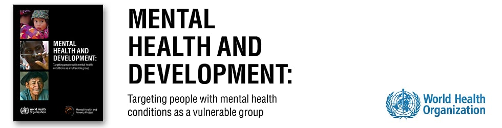 WHO Mental Health and Development Report