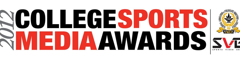 2012 SVG College Sports Media Awards (Presented by NACDA) - WInners