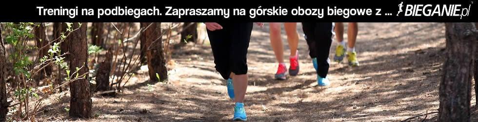 Treningi na pobiegach