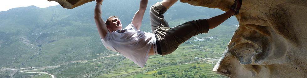 Tinos Bouldering (Livada Skull)