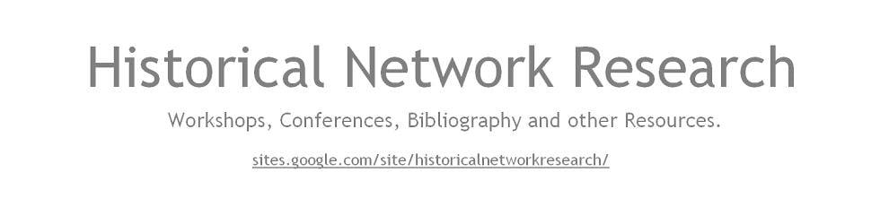 Historische Netzwerkforschung / Historical Network Research