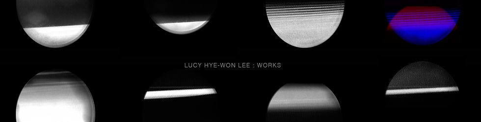 LUCY HYE-WON LEE : Works